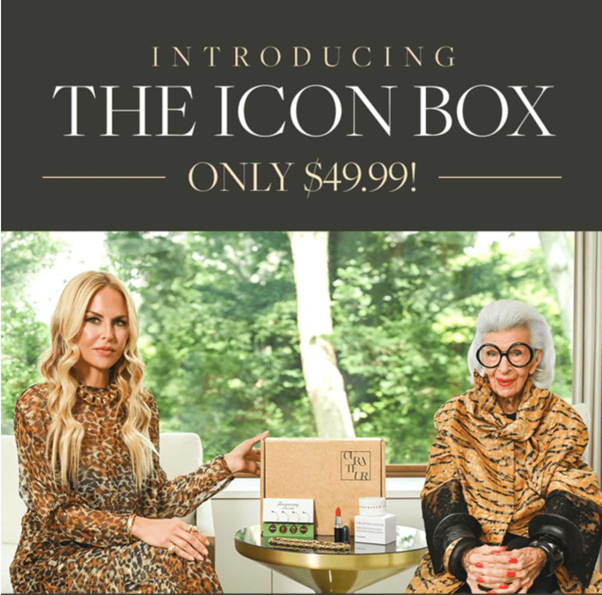 CURATEUR Icon Box – On Sale Now