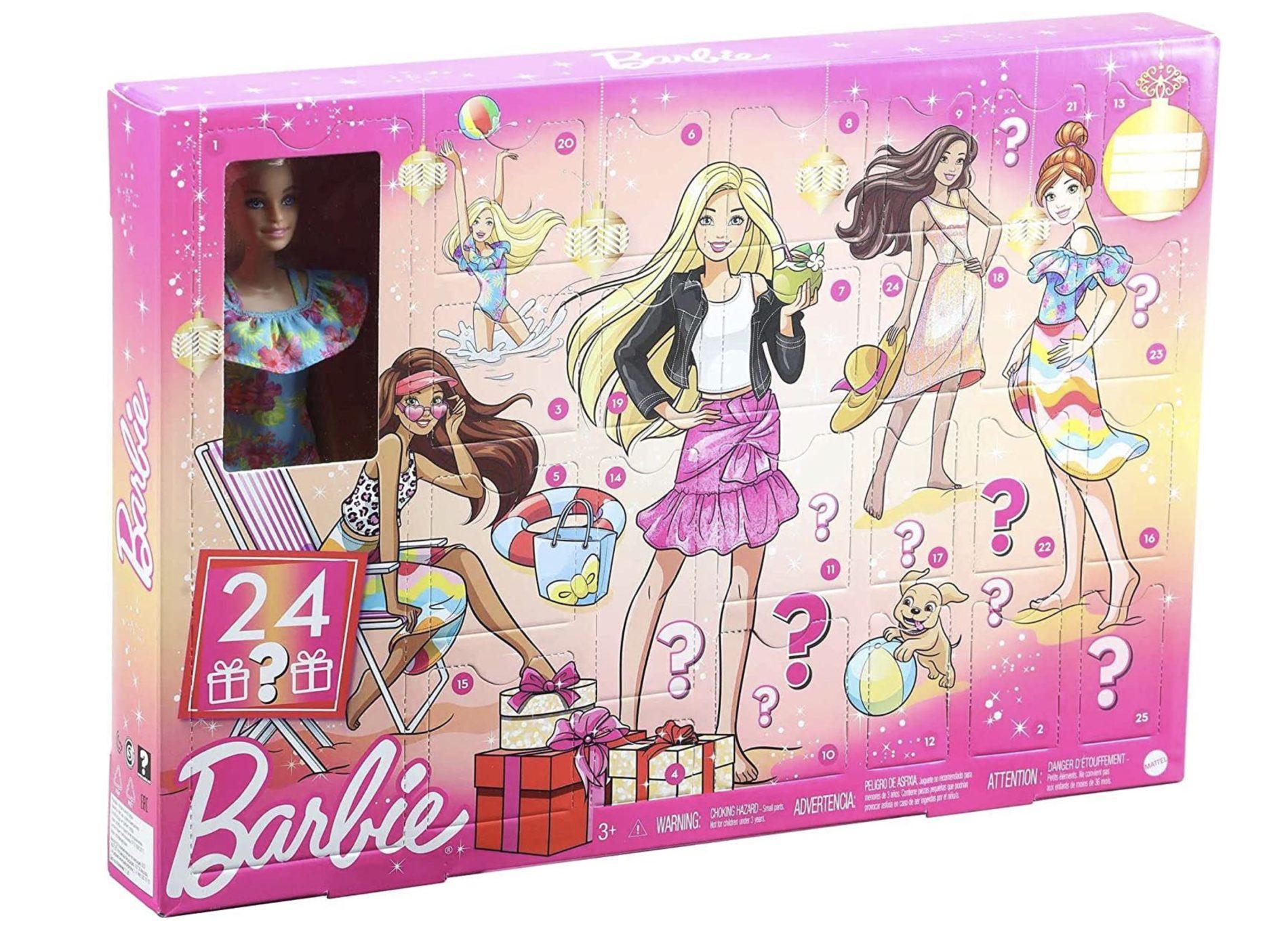 Barbie Advent Calendar with Barbie Doll