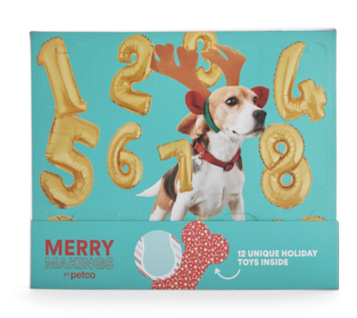Merry Makings 12-Days of Thrills Puppy Toy Advent Calendar