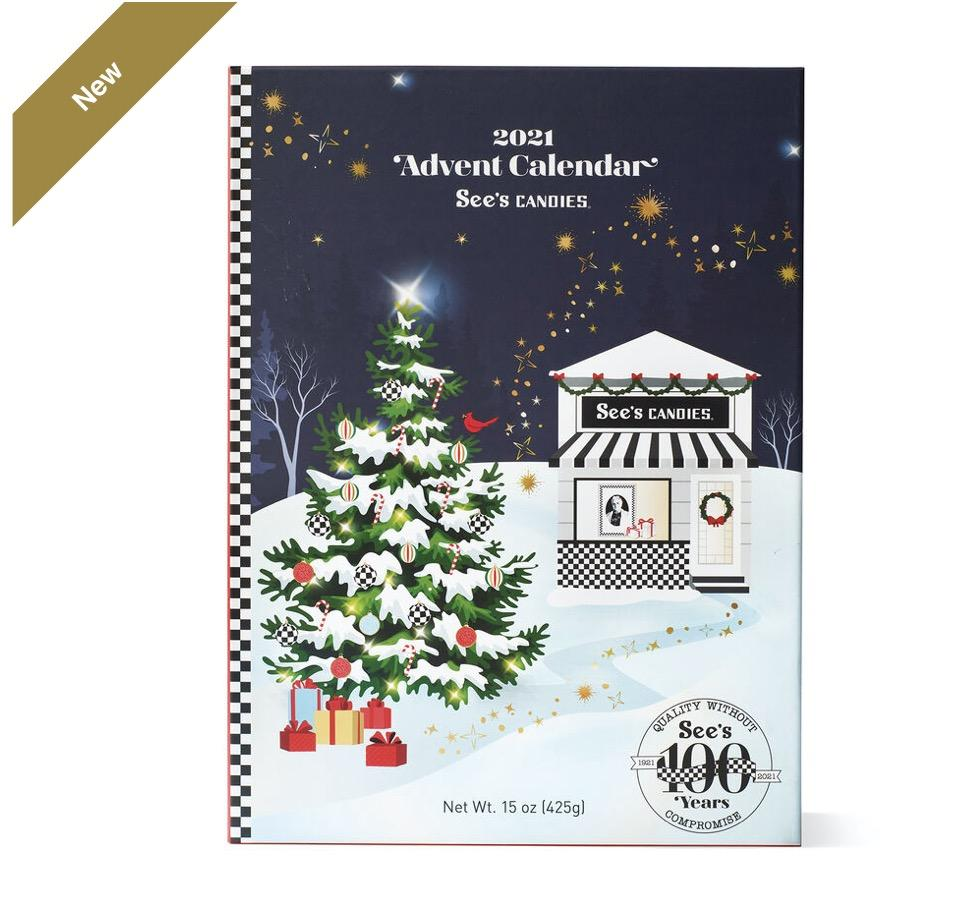 See's Candies 2021 Advent Calendar – On Sale Now!