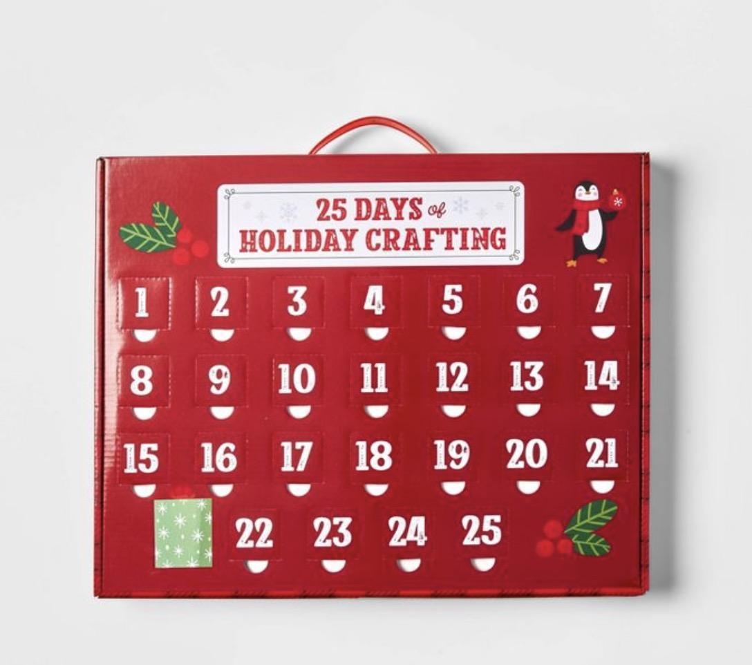 Target Wondershop 25 Days of Crafting Countdown Kit Advent Calendar