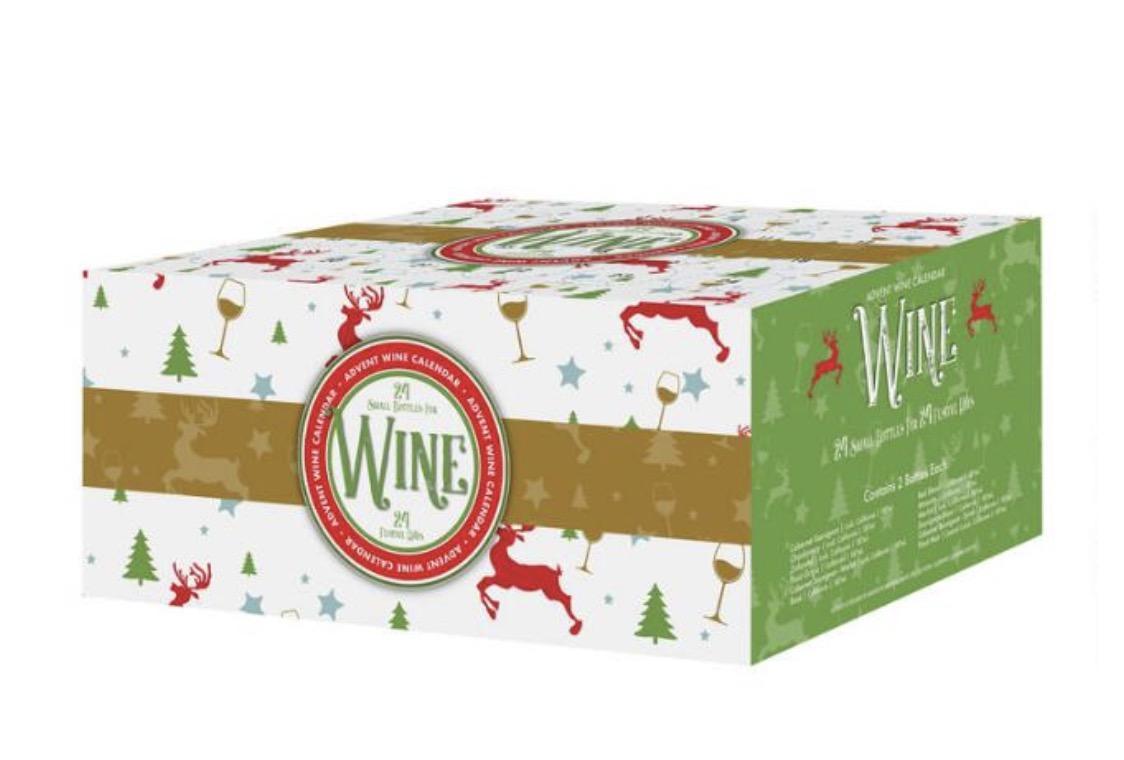 World Market Festive Wine Advent Calendar 24 Pack