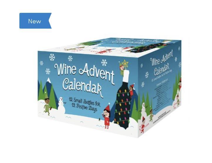 World Market Elf Wine Advent Calendar 12 Pack