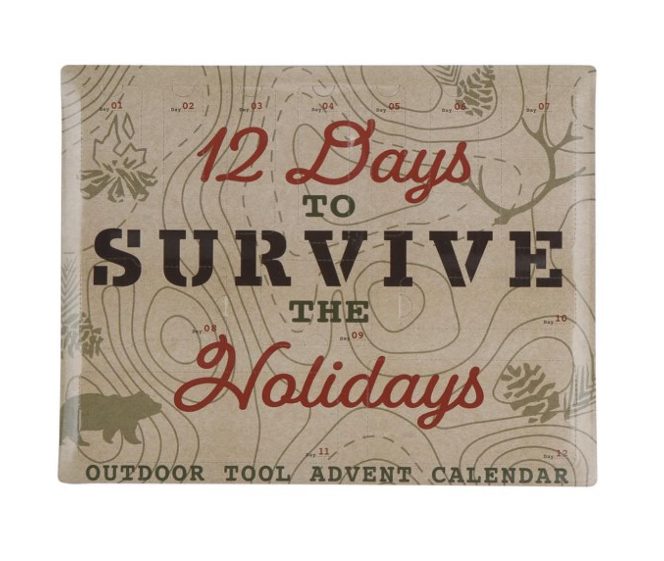 Ozark Trail 12 Days Camping Survival Accessories Advent Calendar Kit