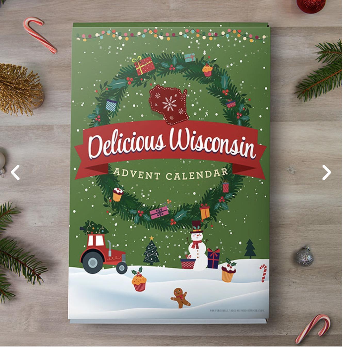 Delicious WISCONSIN Advent Calendar